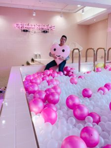 Ball pit at Urban Space